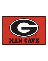 Georgia Man Cave Starter Rug 19x30 by