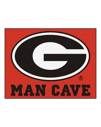 Georgia Man Cave AllStar Mat 34x45 by