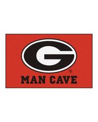 Georgia Man Cave UltiMat Rug 60x96 by