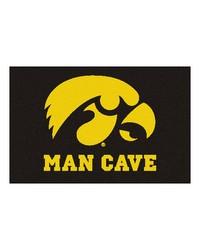 Iowa Man Cave Starter Rug 19x30 by