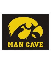 Iowa Man Cave AllStar Mat 34x45 by