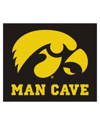 Iowa Man Cave Tailgater Rug 60x72 by