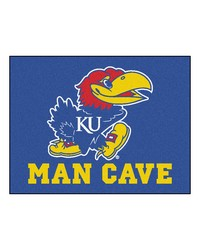 Kansas Man Cave All-Star Mat 34x45 by