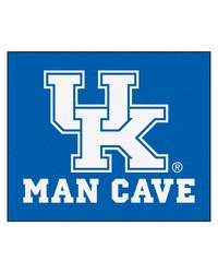 Kentucky Man Cave Tailgater Rug 60x72 by