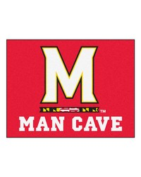 Maryland Man Cave AllStar Mat 34x45 by