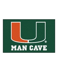 Miami Man Cave Starter Rug 19x30 by