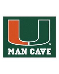 Miami Man Cave AllStar Mat 34x45 by