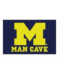 Michigan Man Cave Starter Rug 19x30 by