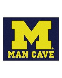 Michigan Man Cave AllStar Mat 34x45 by