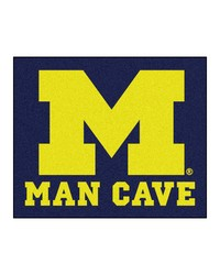 Michigan Man Cave Tailgater Rug 60x72 by