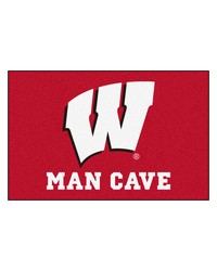 Wisconsin Man Cave Starter Rug 19x30 by