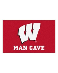 Wisconsin Man Cave UltiMat Rug 60x96 by