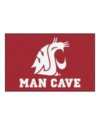 Washington State Man Cave Starter Rug 19x30 by