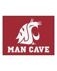 Washington State Man Cave AllStar Mat 34x45 by