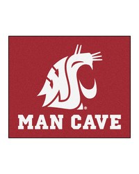 Washington State Man Cave Tailgater Rug 60x72 by