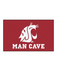 Washington State Man Cave UltiMat Rug 60x96 by