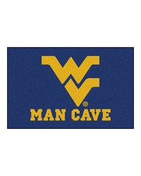 West Virginia Man Cave Starter Rug 19x30  by