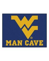 West Virginia Man Cave AllStar Mat 34x45 by