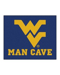 West Virginia Man Cave Tailgater Rug 60x72 by