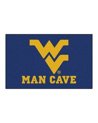 West Virginia Man Cave UltiMat Rug 60x96 by