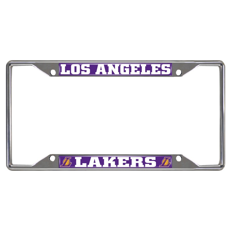 NBA Los Angeles Lakers License Plate Frame 6.25x12.25 ...