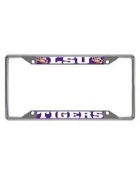 Louisiana State License Plate Frame 6.25x12.25 by