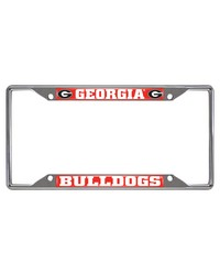 Georgia License Plate Frame 6.25x12.25 by