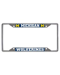 Michigan License Plate Frame 6.25x12.25 by