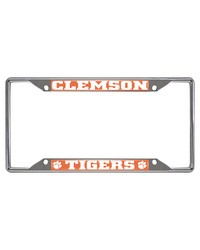 Clemson License Plate Frame 6.25x12.25 by