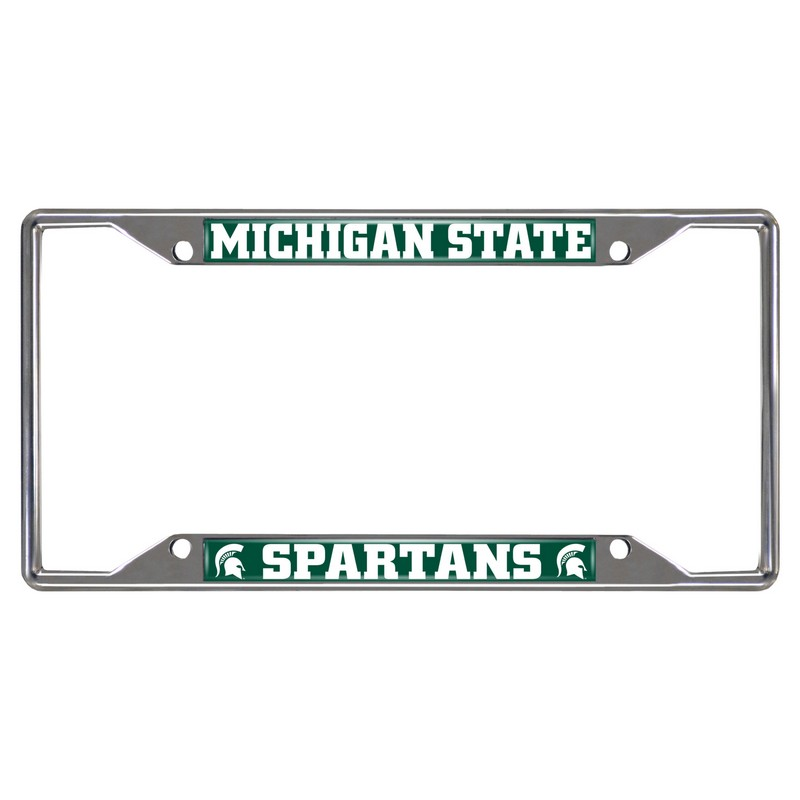 Unique Michigan State License Plate Frame Adornment - Framed Art ...