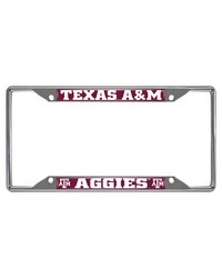 Texas AM License Plate Frame 6.25x12.25 by