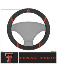 Texas Tech Steering Wheel Cover 15x15 by