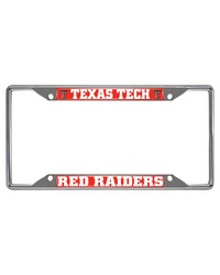 Texas Tech License Plate Frame 6.25x12.25 by