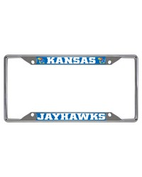 Kansas License Plate Frame 6.25x12.25 by