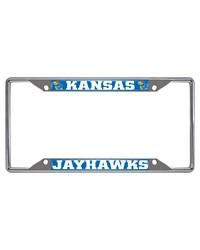 Kansas License Plate Frame 6.25x12.25 by