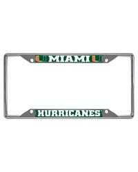 Miami License Plate Frame 6.25x12.25 by