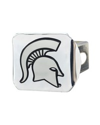 Michigan State Hitch Cover 4 1 2x3 3 8 by