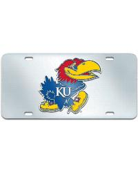 Kansas License Plate Inlaid 6x12 by