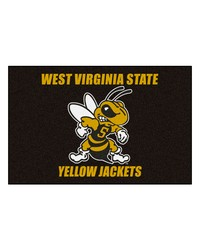 West Virginia State Starter Rug 20x30 by
