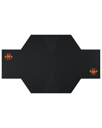 Iowa State Motorcycle Mat 82.5 L x 42 W by