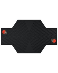 NFL Cleveland Browns Motorcycle Mat 82.5 L x 42 W by