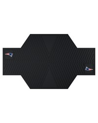 NFL New England Patriots Motorcycle Mat 82.5 L x 42 W by