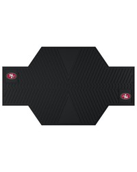 NFL San Francisco 49ers Motorcycle Mat 82.5 L x 42 W by
