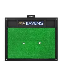 NFL Baltimore Ravens Golf Hitting Mat 20 x 17 by