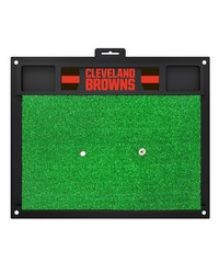 NFL Cleveland Browns Golf Hitting Mat 20 x 17 by