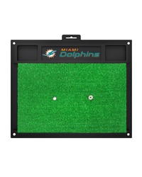 NFL Miami Dolphins Golf Hitting Mat 20 x 17 by
