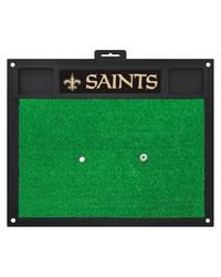 NFL New Orleans Saints Golf Hitting Mat 20 x 17 by