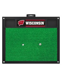 Wisconsin Golf Hitting Mat 20 x 17 by