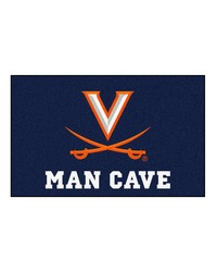 Virginia Man Cave UltiMat Rug 60x96 by