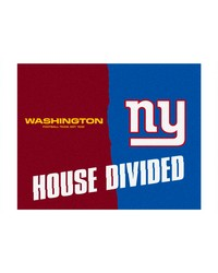NFL Chicago Bears Green Bay Packers House Divided Rugs 34x45 by